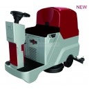 single brush ride-on scrubber dryer