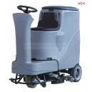 facile ride-on scrubber dryer machine