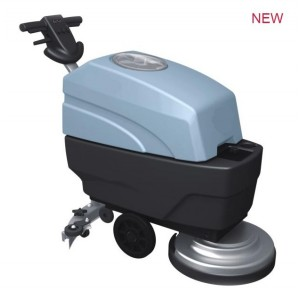 compact floor scrubber dryer machine