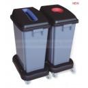 60L waste classification dustbin