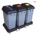 60L waste classification dustbin