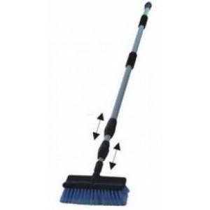 3-section elastic Aluminum handle cleaning brush