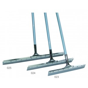 straight steel-clip rubber squeegee