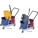 34L mop wringer trolley