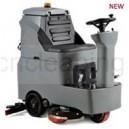 2*brush ride-on MINI floor scrubber machine