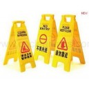A  shape small caution board (New)