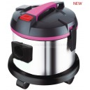 s/s tank 15L wet & dry vacuum cleaner