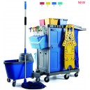 multifunctional janitor cart