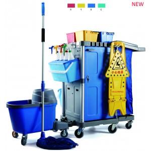 multifunctional janitor cart