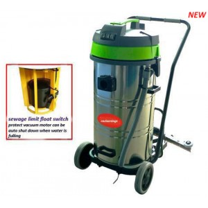 80L wet & dry vacuum cleaner with sewage limit float switch