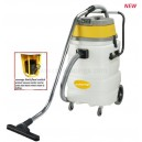 90L wet & dry vacuum cleaner with sewage limit float switch