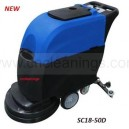 walk behind auto scrubber cleaning machine