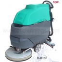 walk behind single brush scrubber cleaning machine