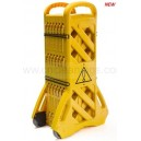 portable fence caution board
