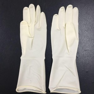 disposable latex surgical gloves
