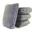 stainless steel sponge scrubber kitchen