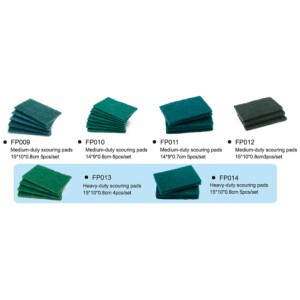 Green Scrubbing pad sheets