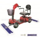 driving dust mop cart
